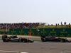 GP CINA, 17.04.2016 - Gara, Sergio Perez (MEX) Sahara Force India F1 VJM09 e Fernando Alonso (ESP) McLaren Honda MP4-31