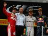 GP CINA, 17.04.2016 - Gara, 1st position Nico Rosberg (GER) Mercedes AMG F1 W07 Hybrid, secondo Sebastian Vettel (GER) Ferrari SF16-H e terzo Daniil Kvyat (RUS) Red Bull Racing RB12