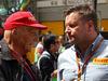 GP CINA, 17.04.2016 - Gara, Nikki Lauda (AU), Mercedes e Paul Hembery, Pirelli Motorspor Director