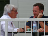 GP EUROPA, 19.06.2016 - (L to R): Bernie Ecclestone (GBR) with Christian Horner (GBR) Red Bull Racing Team Principal.