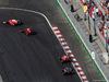 GP EUROPA, Gara: Daniel Ricciardo (AUS) Red Bull Racing RB12, Sebastian Vettel (GER) Ferrari SF16-H, Kimi Raikkonen (FIN) Ferrari SF16-H e Sergio Perez (MEX) Sahara Force India F1 VJM09