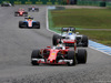 GP GERMANIA, 31.07.2016 - Gara, Sebastian Vettel (GER) Ferrari SF16-H e Felipe Massa (BRA) Williams FW38