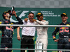 GP GERMANIA, 31.07.2016 - Gara, 1st position Lewis Hamilton (GBR) Mercedes AMG F1 W07 Hybrid, secondo Daniel Ricciardo (AUS) Red Bull Racing RB12 e terzo Max Verstappen (NED) Red Bull Racing RB12