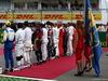 GP GERMANIA, 31.07.2016 - Gara, The drives observe the national anthem