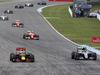 GP GERMANIA, 31.07.2016 - Gara, Daniel Ricciardo (AUS) Red Bull Racing RB12 e Nico Rosberg (GER) Mercedes AMG F1 W07 Hybrid