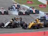 GP GERMANIA, 31.07.2016 - Gara, Sergio Perez (MEX) Sahara Force India F1 VJM09 e Jolyon Palmer (GBR) Renault Sport F1 Team RS16