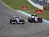 GP GERMANIA, 31.07.2016 - Gara, Marcus Ericsson (SUE) Sauber C34 e Rio Haryanto (IDN) Manor Racing MRT05