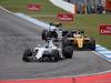 GP GERMANIA, 31.07.2016 - Gara, Felipe Massa (BRA) Williams FW38 e Kevin Magnussen (DEN) Renault Sport F1 Team RS16