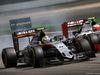 GP GERMANIA, 31.07.2016 - Gara, Sergio Perez (MEX) Sahara Force India F1 VJM09 e Esteban Gutierrez (MEX) Haas F1 Team VF-16