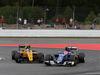 GP GERMANIA, 31.07.2016 - Gara, Jolyon Palmer (GBR) Renault Sport F1 Team RS16 e Felipe Nasr (BRA) Sauber C34