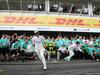 GP GERMANIA, 31.07.2016 - Gara, Festeggiamenti, Lewis Hamilton (GBR) Mercedes AMG F1 W07 Hybrid vincitore
