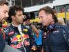 GP GIAPPONE, 09.10.2016 - Gara, Daniel Ricciardo (AUS) Red Bull Racing RB12 e Christian Horner (GBR), Red Bull Racing, Sporting Director