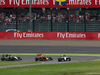 GP GIAPPONE, 09.10.2016 - Gara, Start of the race, Nico Rosberg (GER) Mercedes AMG F1 W07 Hybrid davanti a Max Verstappen (NED) Red Bull Racing RB12 e Sergio Perez (MEX) Sahara Force India F1 VJM09
