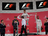 GP GIAPPONE, 09.10.2016 - Gara, secondo Max Verstappen (NED) Red Bull Racing RB12, Nico Rosberg (GER) Mercedes AMG F1 W07 Hybrid vincitore e terzo Lewis Hamilton (GBR) Mercedes AMG F1 W07 Hybrid