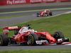 GP GIAPPONE, 09.10.2016 - Gara, Sebastian Vettel (GER) Ferrari SF16-H e Kimi Raikkonen (FIN) Ferrari SF16-H