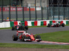 GP GIAPPONE, 09.10.2016 - Gara, Sebastian Vettel (GER) Ferrari SF16-H davanti a Jenson Button (GBR)  McLaren Honda MP4-31 davanti a