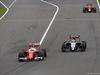 GP GIAPPONE, 09.10.2016 - Gara, Sebastian Vettel (GER) Ferrari SF16-H e Sergio Perez (MEX) Sahara Force India F1 VJM09