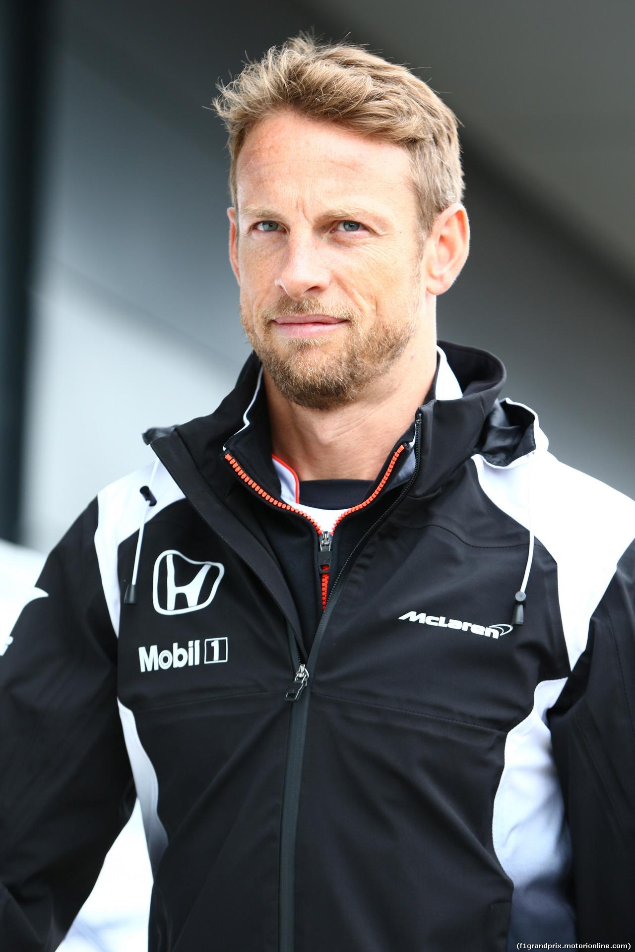 GP GRAN BRETAGNA, 10.07.2016 - Jenson Button (GBR)  McLaren Honda MP4-31