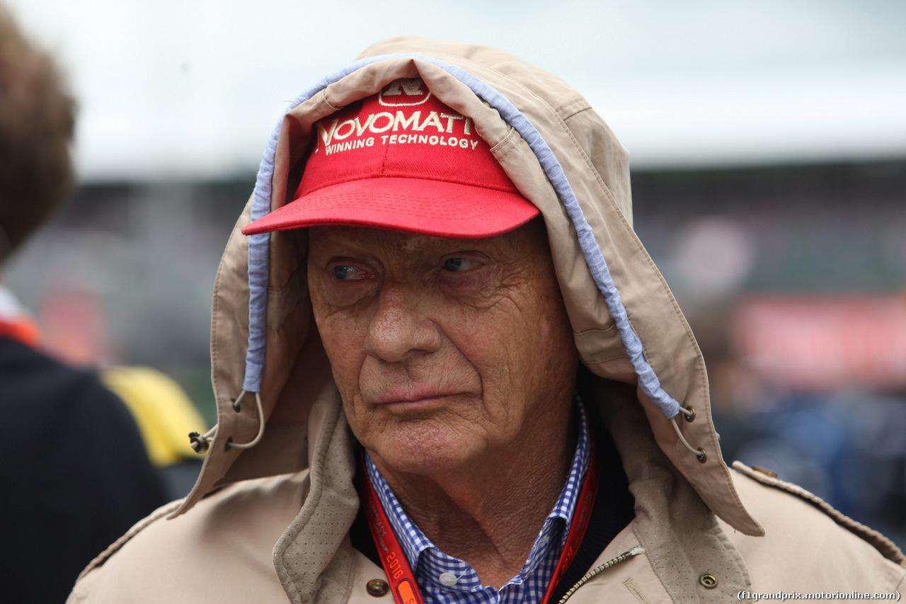 GP GRAN BRETAGNA, 10.07.2016 - Gara, Nikki Lauda (AU), Mercedes