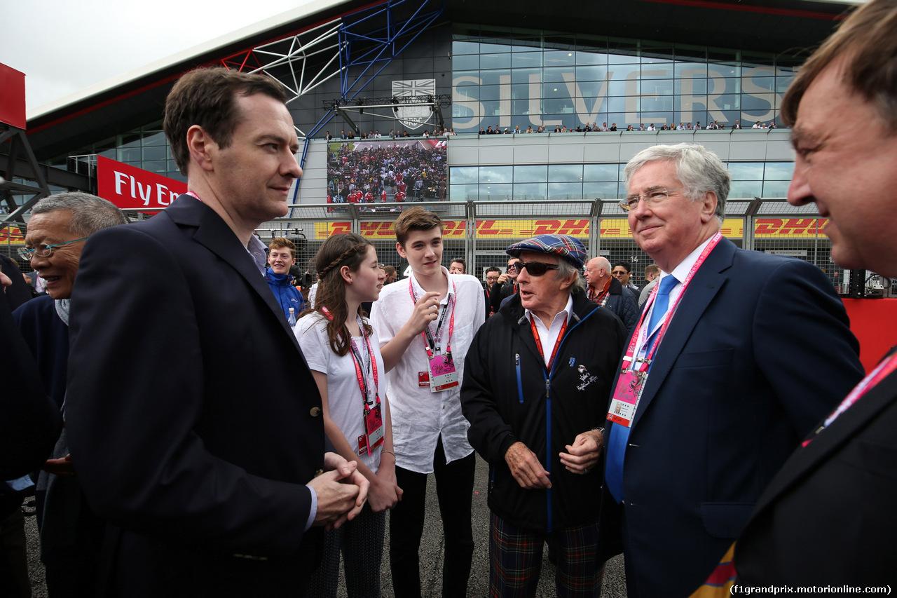 GP GRAN BRETAGNA, 10.07.2016 - Gara, George Osborne MP (GBR) Chancellor of the Exchequer