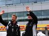 GP GRAN BRETAGNA, 10.07.2016 - Jenson Button (GBR)  McLaren Honda MP4-31 e Nico Hulkenberg (GER) Sahara Force India F1 VJM09