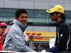 GP GRAN BRETAGNA, 10.07.2016 - Rio Haryanto (IDN) Manor Racing MRT05 e Felipe Nasr (BRA) Sauber C34
