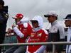 GP GRAN BRETAGNA, 10.07.2016 - Sebastian Vettel (GER) Ferrari SF16-H , Kimi Raikkonen (FIN) Ferrari SF16-H e Esteban Gutierrez (MEX) Haas F1 Team VF-16