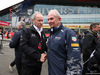 GP GRAN BRETAGNA, 10.07.2016 - Gara, Jerome Stoll (FRA) Renault Sport F1 President e Helmut Marko (AUT), Red Bull Racing, Red Bull Advisor