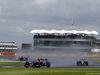 GP GRAN BRETAGNA, 10.07.2016 - Gara, Carlos Sainz Jr (ESP) Scuderia Toro Rosso STR11 e Nico Hulkenberg (GER) Sahara Force India F1 VJM09
