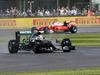 GP GRAN BRETAGNA, 10.07.2016 - Gara, Lewis Hamilton (GBR) Mercedes AMG F1 W07 Hybrid e Kimi Raikkonen (FIN) Ferrari SF16-H