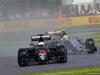 GP GRAN BRETAGNA, 10.07.2016 - Gara, Fernando Alonso (ESP) McLaren Honda MP4-31 e Sergio Perez (MEX) Sahara Force India F1 VJM09
