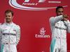GP GRAN BRETAGNA, 10.07.2016 - Gara, Lewis Hamilton (GBR) Mercedes AMG F1 W07 Hybrid vincitore e secondo Nico Rosberg (GER) Mercedes AMG F1 W07 Hybrid