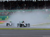 GP GRAN BRETAGNA, 10.07.2016 - Gara, Lewis Hamilton (GBR) Mercedes AMG F1 W07 Hybrid davanti a Nico Rosberg (GER) Mercedes AMG F1 W07 Hybrid