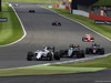 GP GRAN BRETAGNA, 10.07.2016 - Gara, Valtteri Bottas (FIN) Williams FW38 e Nico Hulkenberg (GER) Sahara Force India F1 VJM09