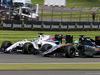 GP GRAN BRETAGNA, 10.07.2016 - Gara, Felipe Massa (BRA) Williams FW38 e Nico Hulkenberg (GER) Sahara Force India F1 VJM09