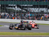GP GRAN BRETAGNA, 10.07.2016 - Gara, Daniil Kvyat (RUS) Scuderia Toro Rosso STR11 e Sebastian Vettel (GER) Ferrari SF16-H