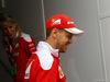 GP GRAN BRETAGNA, 07.07.2016 - Sebastian Vettel (GER) Ferrari SF16-H e Britta Roeske (AUT) Ferrari Press Officer.