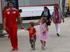 GP GRAN BRETAGNA, 07.07.2016 - Guy Lovett, Shell Technology Manager e his family
