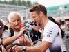 GP GRAN BRETAGNA, 07.07.2016- Jenson Button (GBR) McLaren signs autographs for the fans.