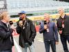 GP GRAN BRETAGNA, 07.07.2016- (L to R): Simon Lazenby (GBR) Sky Sports F1 TV Presenter; Lewis Hamilton (GBR) Mercedes AMG F1; Johnny Herbert (GBR) Sky Sports F1 Presenter; Damon Hill (GBR) Sky Sports Presenter.