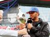 GP GRAN BRETAGNA, 07.07.2016- Lewis Hamilton (GBR) Mercedes AMG F1 is presented with the Hawthorn Trophy.