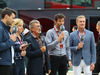 GP GRAN BRETAGNA, 09.07.2016 - Free Practice 3, Eddie Jordan, Mark Webber (AUS) e David Coulthard (GBR)