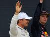 GP GRAN BRETAGNA, 09.07.2016 - Qualifiche, secondo Nico Rosberg (GER) Mercedes AMG F1 W07 Hybrid e terzo Max Verstappen (NED) Red Bull Racing RB12