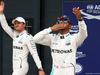 GP GRAN BRETAGNA, 09.07.2016 - Qualifiche, Nico Rosberg (GER) Mercedes AMG F1 W07 Hybrid e Lewis Hamilton (GBR) Mercedes AMG F1 W07 Hybrid pole position