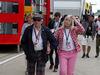 GP GRAN BRETAGNA, 09.07.2016 - Sir Jackie Stewart (GBR) e sua moglie