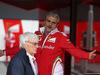 GP GRAN BRETAGNA, 09.07.2016 - Maurizio Arrivabene (ITA) Ferrari Team Principal e Bernie Ecclestone (GBR), President e CEO of FOM