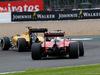GP GRAN BRETAGNA, 08.07.2016 - Free Practice 1, Esteban Ocon (FRA) Renault Sport Formula One Team Test Driver e Sebastian Vettel (GER) Ferrari SF16-H