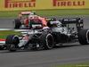 GP GRAN BRETAGNA, 08.07.2016 - Free Practice 1, Jenson Button (GBR)  McLaren Honda MP4-31 e Kimi Raikkonen (FIN) Ferrari SF16-H