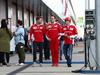 GP GRAN BRETAGNA, 08.07.2016 - Sebastian Vettel (GER) Ferrari SF16-H, Diego Ioverno (ITA) Ferrari Operations Director e Kimi Raikkonen (FIN) Ferrari SF16-H