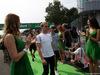 GP ITALIA, 04.09.2016 - Nico Rosberg (GER) Mercedes AMG F1 W07 Hybrid e Pascal Wehrlein (GER) Manor Racing MRT05 at drivers parade